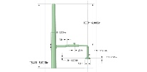 Plant Breeching System - Actual Dimensions Shown