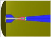 Internal flow with Cavitation